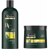 Kit Shampoo E Máscara Tresemmé Detox Capilar (750X400)Ml