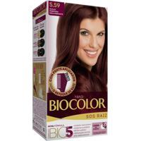 Tintura Biocolor S O S Raiz 5.59 Acaju Púrpura Deslumbrante