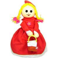 Boneca Dupla Face Kits E Gifts Chapeuzinho Vermelho/Vovó Vermelho