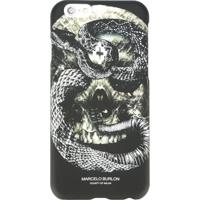 Marcelo Burlon County Of Milan Capa Para Iphone 6/6S 'Bayo' - Preto