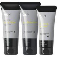 Combo Men: Shampoo Anticaspa 200Ml + Condicionador 200Ml + Creme De Pentear 150Ml