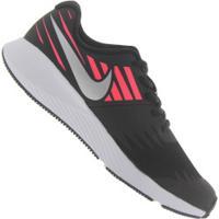 Tênis Nike Star Runner Feminino - Infantil - Preto/Prata