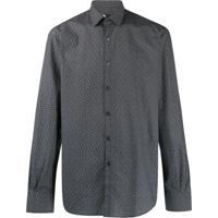 Karl Lagerfeld Camisa Com Estampa De Logo - Preto
