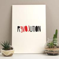 Placa Decorativa - Revolution