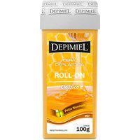Depilador Depimiel Cera Clássica Pelos Normais Roll-On Refil 100G