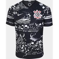 Camisa Corinthians Iii Invasões 19/20 Torcedor S/Nº Nike Masculina - Masculino