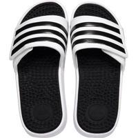b7fd8d7f0462b5 Chinelo Adidas Adissage Tnd Branco E Preto