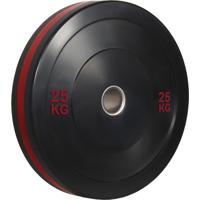 Anilha Olímpica Bumper Plate Para Musculação 25Kg Wct Fitness 10100525