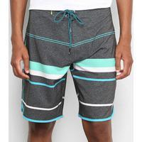 Bermuda Hd Board Stripes Masculina - Masculino