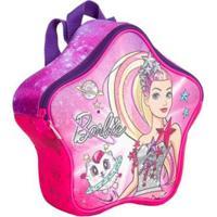 Lancheira Infantil Especial Barbie Aventura Nas Estrelas - Feminino-Rosa