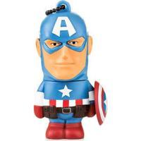 Pen Drive Marvel Vingadores Capitão América 8Gb Usb Leitura 10Mb/S E Gravação 3Mb/S Multilaser - Pd080 Pd080