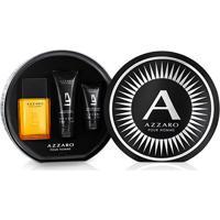 Kit Perfume Masculino Pour Homme Azzaro Edt 100Ml + Shampoo Corporal 100Ml + Pós Barba 50Ml - Masculino