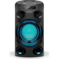 Mini System Mhc V02 Sony Muteki Tipo Torre Com Cd, Conexão Usb, Iluminação, Karaokê, E Bluetooth | Mhc-V02//B Br1