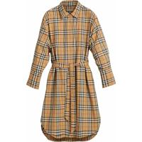 Burberry Camisa Xadrez - Marrom