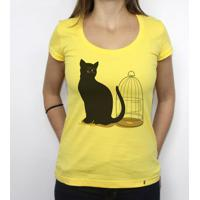 The Cat - Camiseta Clássica Feminina