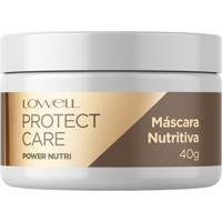 Máscara Lowell Protect Care Power Nutri 40G - Unissex-Incolor