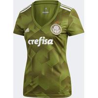 ed7719c21ef4b Netshoes  Camisa Palmeiras Iii 2018 S N° - Torcedor Adidas Feminina -  Feminino