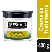 Creme De Tratamento Tresemmé Detox Capilar 400G