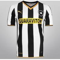 Camisa Puma Botafogo I 2014 S/Nº - Torcedor - Masculino