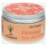 Creme Corporal Pessego & Flor De Lotus Oil Cream Orgânica 250Gr