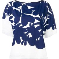 Marni Blusa Estampada - Azul