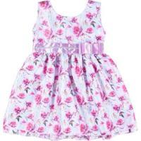 Vestido Infantil Mundo Infantil - Feminino-Lilás