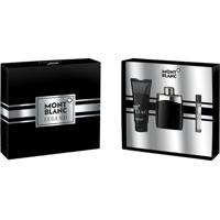 Kit Perfume Montblanc Legend Masculino Eau De Toilette + Pós Barba + Travel Spray
