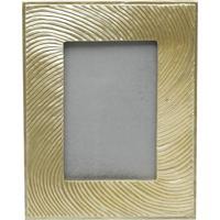 Porta Retrato Metalizado- Dourado- Tamanho Da Foto: Rojemac