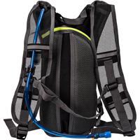 Mochila Cargueira Hidra Bag 2 Litros Preto Com Cinza Trilhas E Rumos