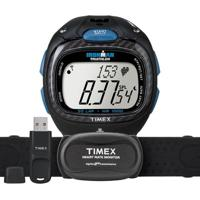 Relógio Timex Masculino Ironman Race Trainer T5K489F7/Ti Preto T5K489F7/Ti - Masculino-Preto