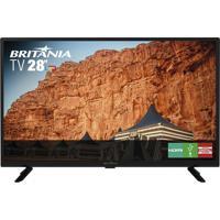 Tv 28 Polegadas Led Britânia Bivolt Btv28G50D