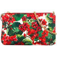 Dolce & Gabbana Kids Bolsa Tiracolo Com Estampa Floral - Vermelho
