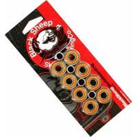 Kit Com 8 Rolamentos De Skate E 4 Espaçadores Black Sheep Abec 11 - Unissex