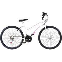 Bicicleta Feminina Aro 26 Aço Carbono 18 Marchas Ultra Bikes - Feminino