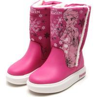 Bota Grendene Kids Frozen Rosa