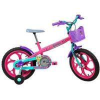 Bicicleta Infantil Caloi Barbie Aro 16 - Feminino