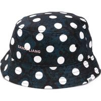 Vans Polka Dot Print Bucket Hat - Azul