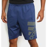 Shorts Adidas 4Krft Sport Graphic Masculino - Masculino-Marinho