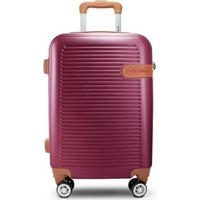 Mala De Viagem Premium Jack Design - Unissex-Vinho