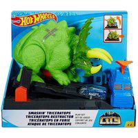 Pista Hot Wheels Ataque De Triceratops Com Carrinho - Mattel