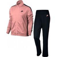Agasalho Nike Feminino Trk Pk Rsa/Pto - Nike