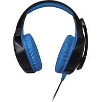 Fone De Ouvido Warrior Headsete Com Led 2.0 Usb Azul Ph244