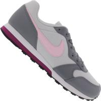 Tênis Nike Md Runner 2 Feminino- Infantil - Cinza Cla/Cinza Esc