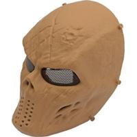 Mascara Tática Highlander Em Abs Com Proteção De Tela Tan