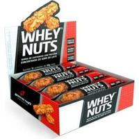 Kit 5X Barras Whey Nuts 12 Unids 30G Bodyaction - Unissex