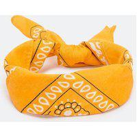 Bandana Estampa Paisley   Accessories   Amarelo   U