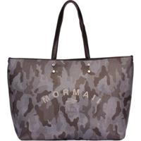 Bolsa Mormaii Shopping Bag Feminina - Feminino-Cinza