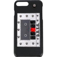 Dolce & Gabbana Capa Para Iphone 7 'Cassette' - Preto