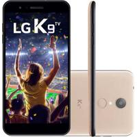 Smartphone Lg K9 Tv 16Gb Lmx210 Desbloqueado Dourado