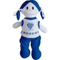 Boneca Mascote Do Avaí - Torcida Baby - Unissex-Azul+Branco